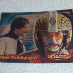 Star Wars Evolution topps 2001 Biggs Darklighter foil card